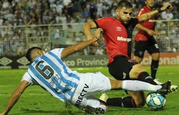 Atlético Tucumán y Newell's empataron 2 a 2 por la fecha 16 de la Superliga