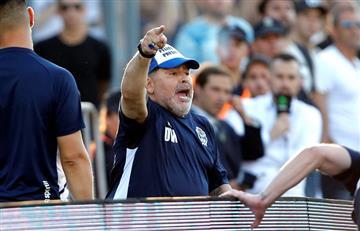 Diego Maradona confirmó que seguirá en Gimnasia: