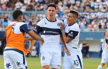 Gimnasia de La Plata le ganó 2 a 1 a Central Córdoba por la fecha 16 de la Superliga