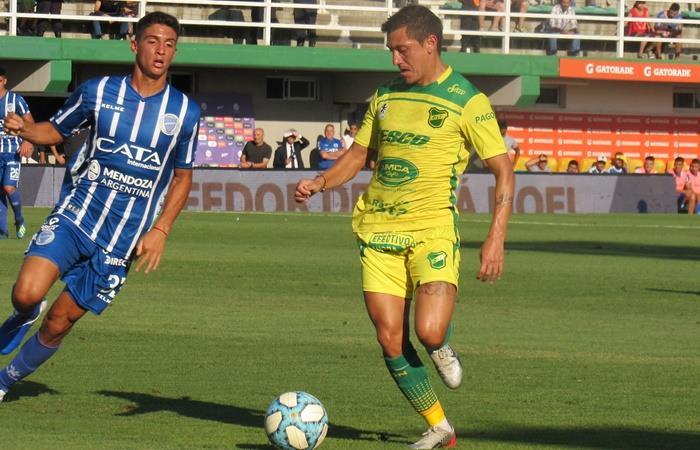 Defensa y Justicia le ganó 2 a 0 a Godoy Cruz. Foto: Twitter