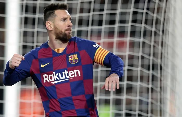 Lionel Messi no viaja a Italia para enfrentar a Inter. Foto: Twitter
