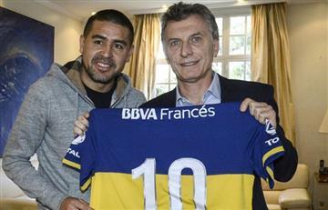 Mauricio Macri felicitó a Jorge Amor Ameal por su triunfo como presidente de Boca