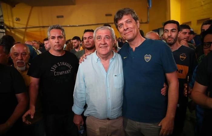 Jorge Amor Ameal es el nuevo presidente de Boca. Foto: Twitter