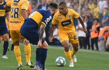 Rosario Central le ganó 1 a 0 a Boca con gol de Ribas por la fecha 16 de la Superliga