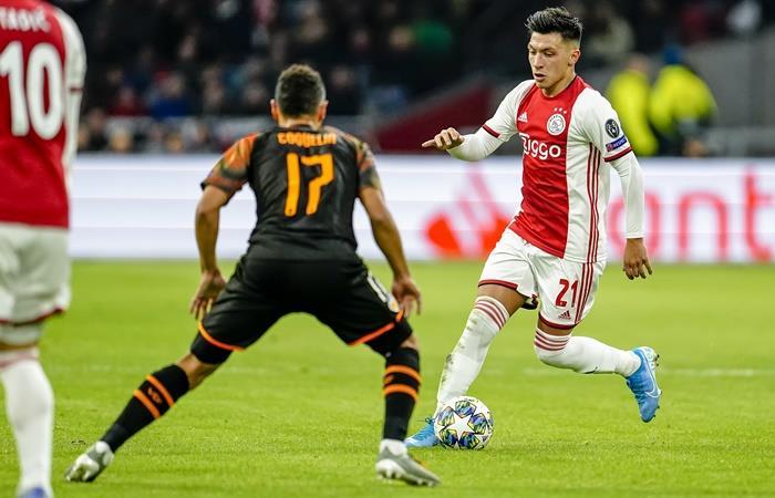 Ajax quedó eliminado de la Champions League por Valencia. Foto: Twitter