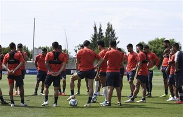 No habrá paro: el plantel de Independiente decidió entrenar pese a la deuda de la dirigencia
