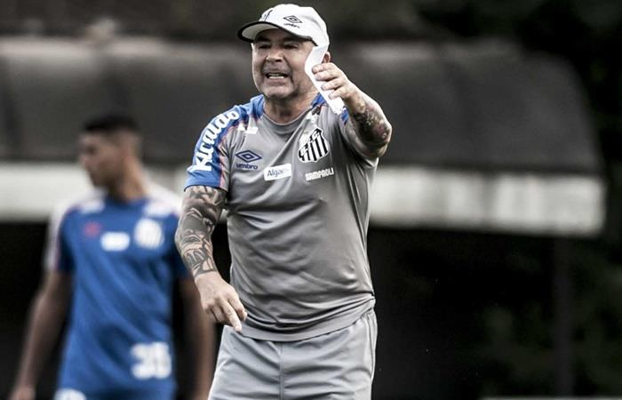 Jorge Sampaoli renunció al cargo de entrenador a Santos. Foto: Twitter