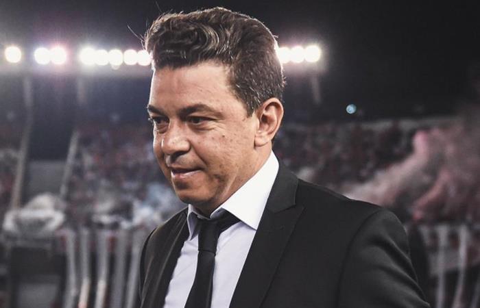 Marcelo Gallardo confirmó su continuidad en River. Foto: Twitter