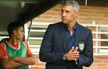 Hernán Crespo mantuvo una reunión con los dirigentes de Independiente