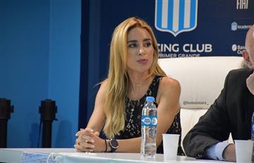 Barbie Blanco habló de la situación de Jonatan Cristaldo en Racing tras la denuncia por violencia de género