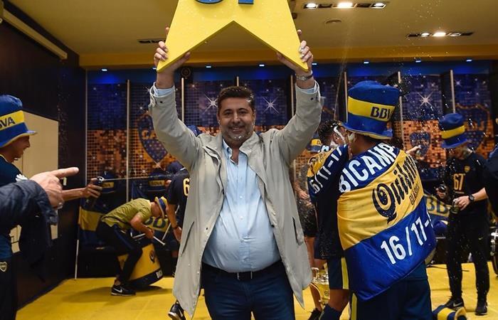 Daniel Angelici se despidió de la presidencia de Boca. Foto: Twitter Daniel Angelici