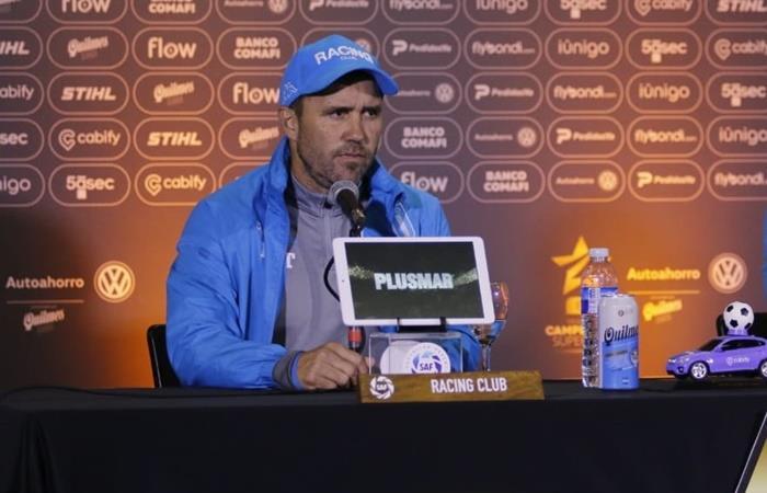 Coudet habló de la final y de la llegada de Sebastián Beccacece. Foto: Twitter