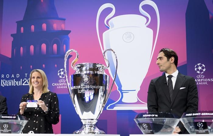 Se sortearon los octavos de final de la Champions League. Foto: EFE