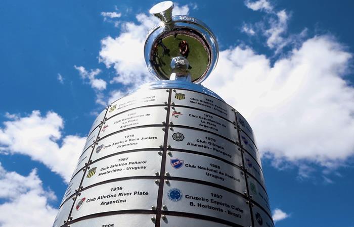 La Copa Libertadores se sortea el martes por la noche en Paraguay. Foto: Twitter