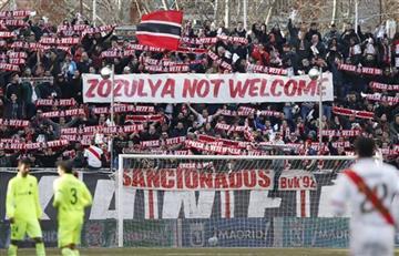 España: Suspendieron el partido entre Rayo Vallecano y Albacete por gritarle
