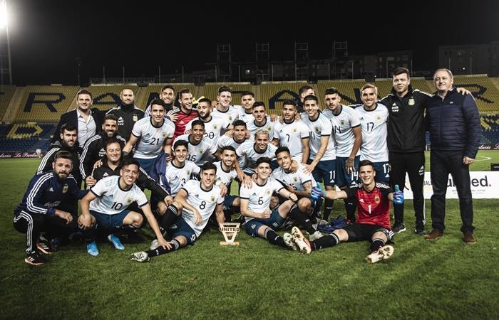 Los convocados para la Selección Argentina Sub 23. Foto: Twitter