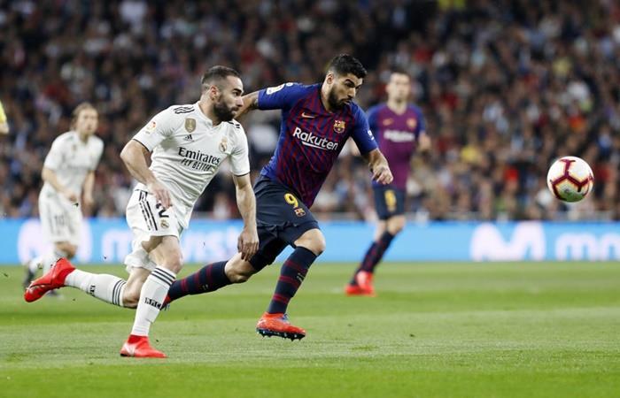 Barcelona y Real Madrid juegan el pendiente de la fecha 10. Foto: Twitter Barcelona