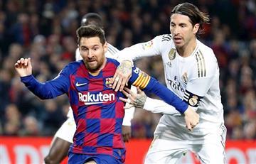 El nuevo récord de Sergio Ramos en Real Madrid - Barcelona