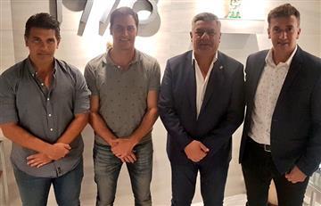 Tapia, Beligoy y Vigliano: cumbre por la llegada del VAR a la Superliga