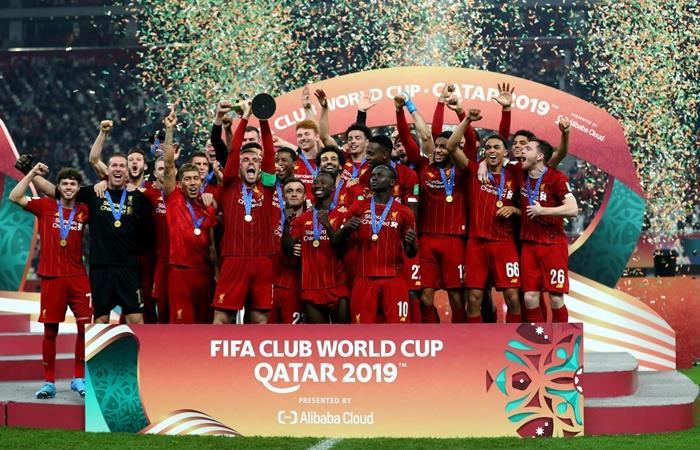 Liverpool es campeón del Mundo por primera vez en la historia. Foto: Twitter