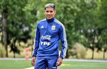Matías Zaracho se sumó a la Selección Argentina Sub 23