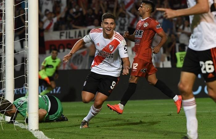 Julián Álvarez será parte de la Selección Sub 23 para el preolímpico. Foto: Twitter