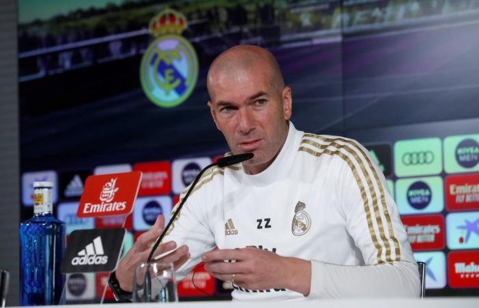 Zidane destacó a Guardiola como el mejor entrenador del Mundo. Foto: EFE