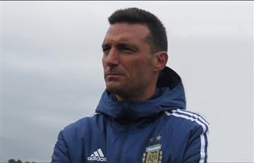 """Scaloni: """"No podemos salir a la cancha pensando que tenemos a Messi"""""""
