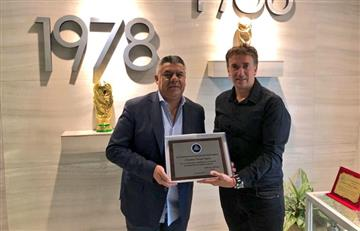 Claudio Tapia confirmó que el VAR llegará a Argentina en 2021