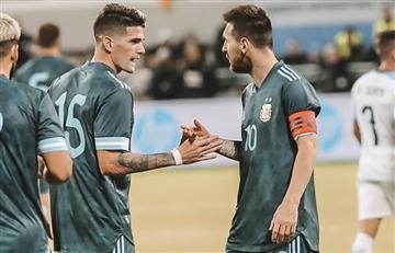 """De Paul sobre Messi: """"Lo miro para ver qué necesita, no para copiarlo"""""""