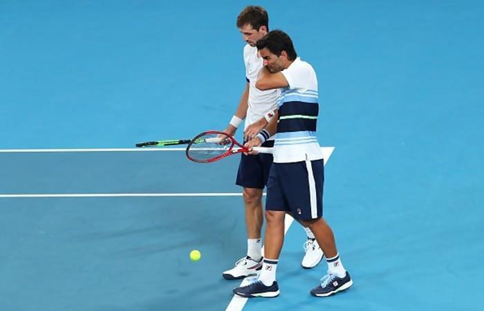 Argentina perdió ante Austria y complicó sus chances en la ATP Cup. Foto: Twitter