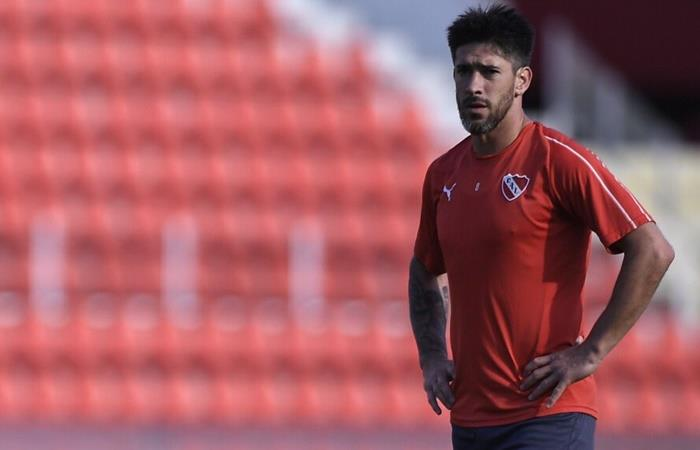 Pablo Pérez seguirá en Independiente. Foto: Twitter