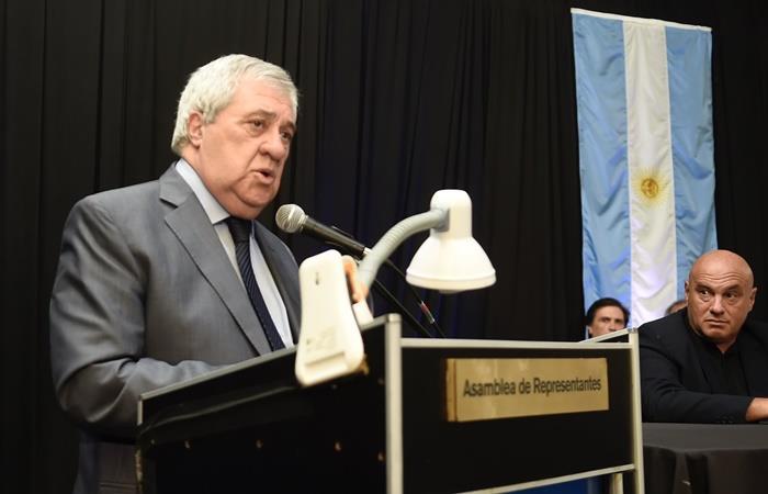 Jorge Amor Ameal habló sobre Ricardo Centurión. Foto: Twitter