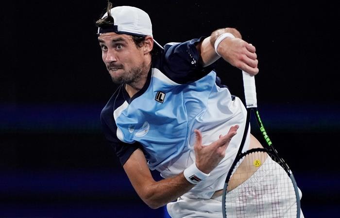 Argentina perdió ante Rusia y fue eliminada de la ATP Cup. Foto: EFE