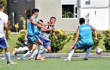 Beccacece paró su primer equipo de Racing ante la Selección Sub 23