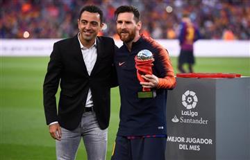 """Xavi: """"No puedo ocultar que mi sueño es entrenar al Barcelona"""""""