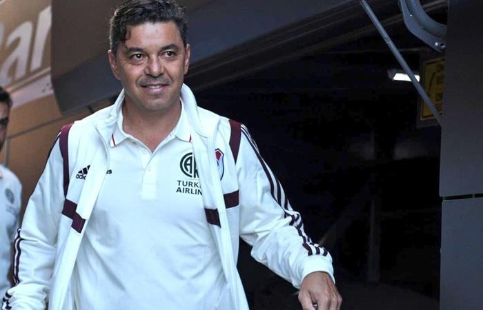 Marcelo Gallardo, criticado por no querer postergar la Superliga. Foto: Twitter