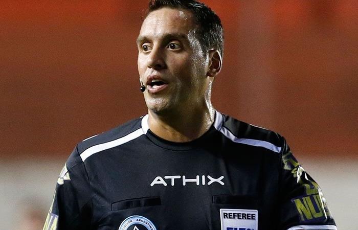 Fernando Rapallini será el árbitro de Independiente vs River. Foto: Twitter