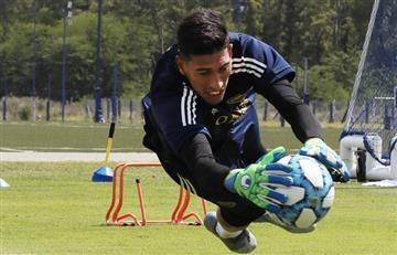 Preocupación en Boca: Andrada sufrió una lesión en la rodilla