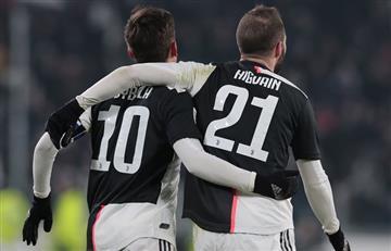 Dybala e Higuaín, los protagonistas de uno de los goles del año