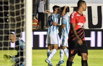 Racing igualó ante Athlético Paranaense y ganó en los penales