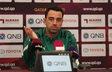 """Xavi y el """"No"""" a Barcelona: """"Es muy pronto para mi formación"""""""