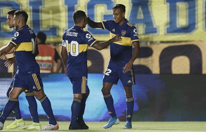 Boca comenzó con un triunfo 2 a 0 a Universitario. Foto: Twitter Boca