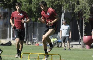 Los Romero discutieron con Monarriz y dejaron la práctica de San Lorenzo