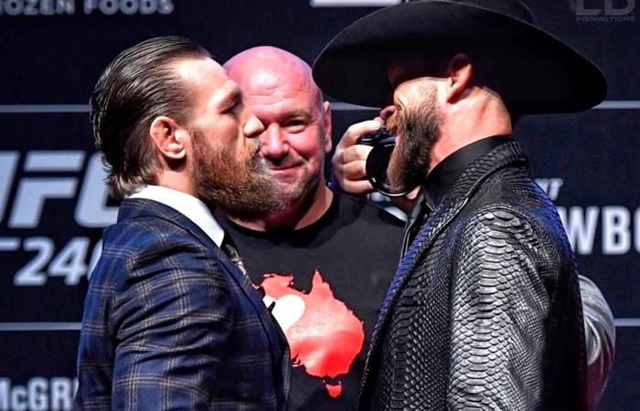 Conor McGregos vs Cowboy Cerrone. Foto: Twitter