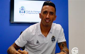 Lucas Barrios firmó su contrato con Gimnasia y habló de Maradona:
