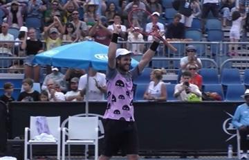 Marco Trungelliti superó la Qualy y es el sexto argentino en el cuadro principal de Australian Open