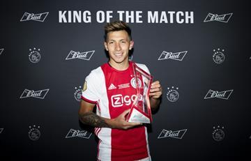Lisandro Martínez fue la figura de Ajax con una salvada espectacular
