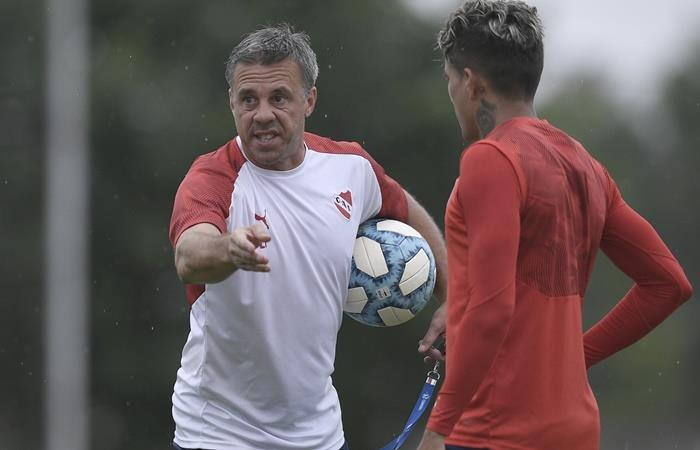 Lucas Pusineri tiene todo listo para enfrentar a River. Foto: Twitter