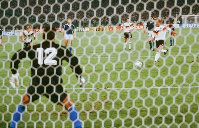 Andreas Brehme habló del penal con el que Alemania le ganó 1 a 0 a Argentina. Foto: Twitter